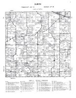 Albion Township, Wright County 1956